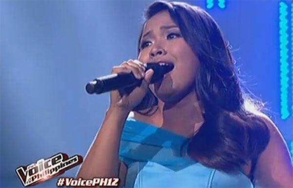 Alisah Bonaobra Alisah Bonaobra sings 39Let It Go39 on The Voice of the