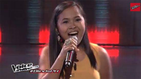 Alisah Bonaobra Alisah Bonaobra sings 39Domino39 on The Voice of the
