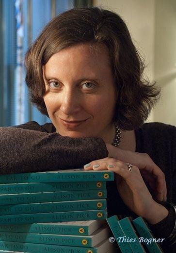 Alison Pick Alison Pick Of faith fact and fiction Peterborough
