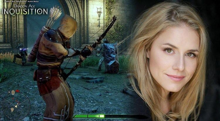 Alix Wilton Regan Dragon Age Inquisition Gameplay session with Alix