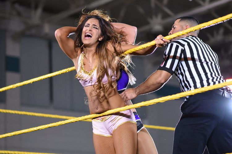 Aliyah (wrestler) WWE NXT Live Event Results and Exclusive Photo Gallery 226 Largo