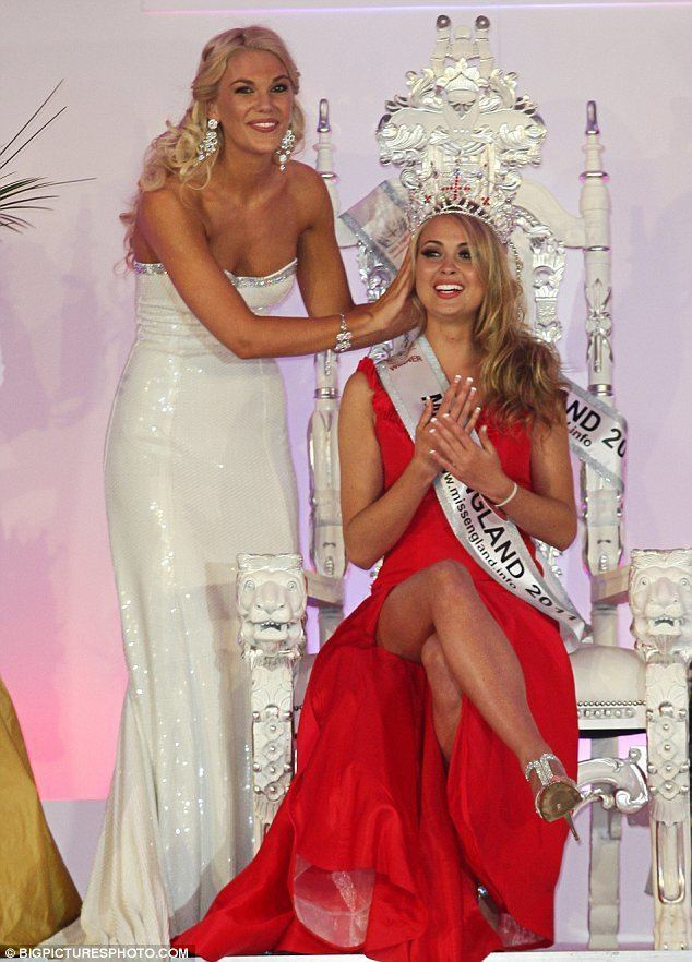 Alize Lily Mounter Miss England 2011 Alize Lily Mounter wins as Roland