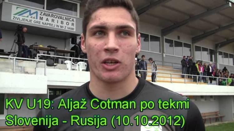 Aljaž Cotman nzssi Alja Cotman po tekmi Slovenija Rusija 10102012 YouTube