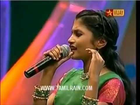 Alka Ajith Airtel super singer Junior2 21 09 2009 Alka Ajith YouTube