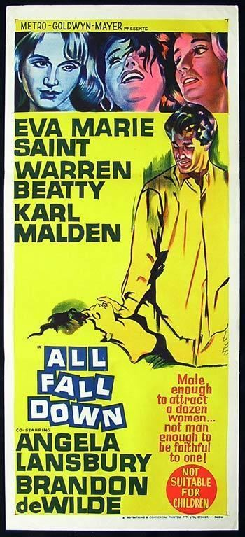All Fall Down (film) ALL FALL DOWN Daybill Movie poster 1962 Eva Marie Saint