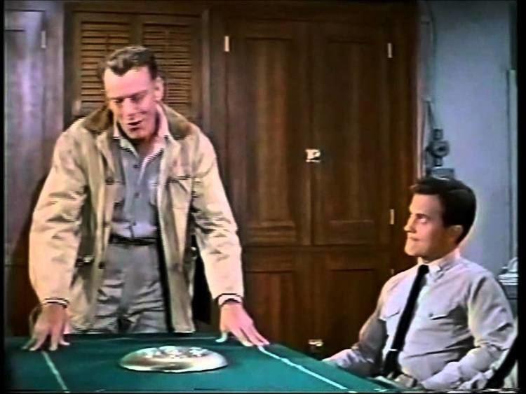All Hands on Deck (film) movie scenes All Hands on Deck 1961 Pat Boone Buddy Hackette Barbara Eden