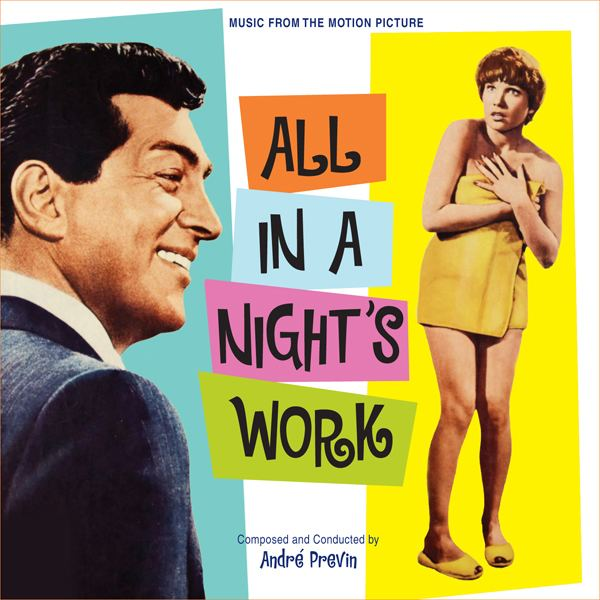 All in a Night's Work (film) Music from motion picture Soundtrack All in a Nights Work with
