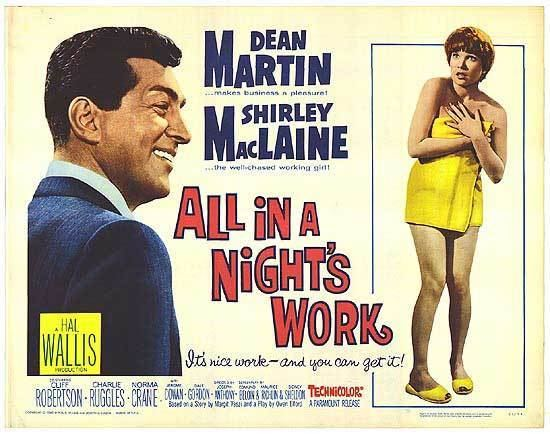 All in a Night's Work (film) All In A Nights Work movie posters at movie poster warehouse