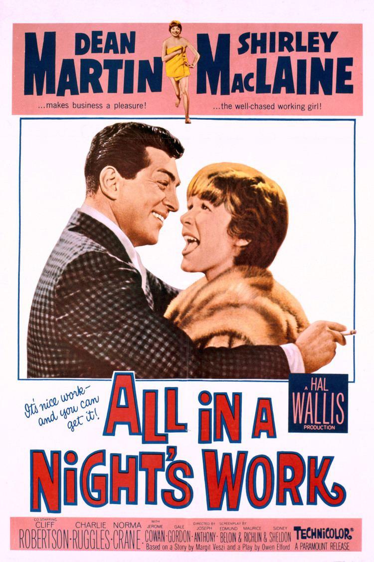 All in a Night's Work (film) wwwgstaticcomtvthumbmovieposters37739p37739