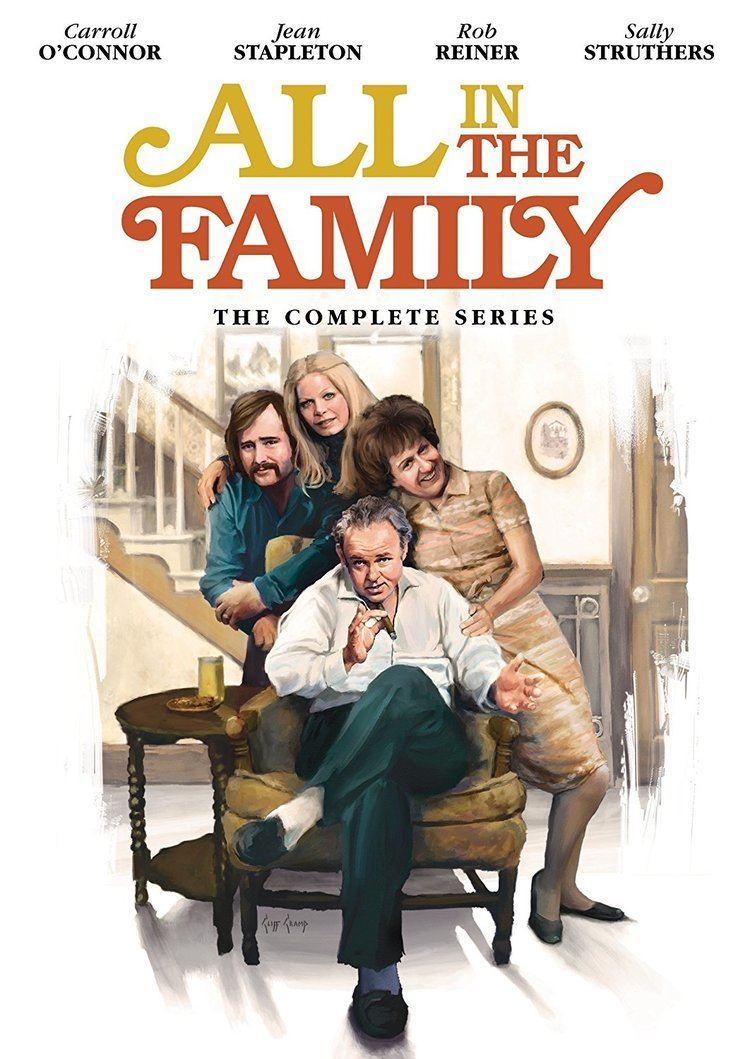 All in the Family Amazoncom All In The Family The Complete Series Carroll O39Connor