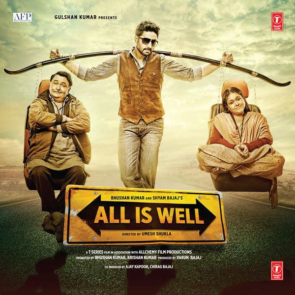 All Is Well 2015 Mp3 Songs Bollywood Music