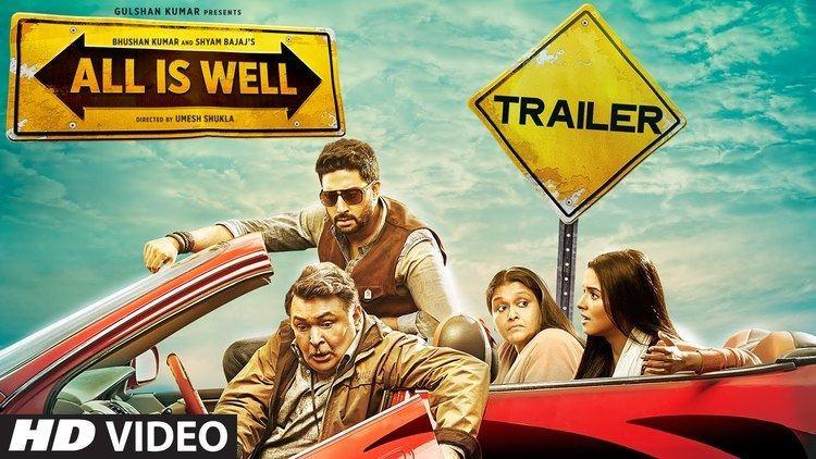 All Is Well Official Trailer Abhishek Bachchan Asin Rishi