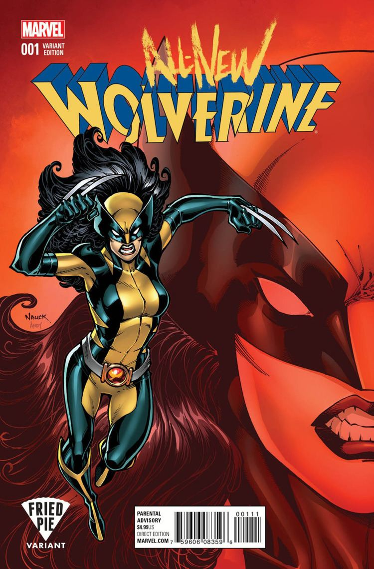 All-New Wolverine AllNew Wolverine 1 Issue