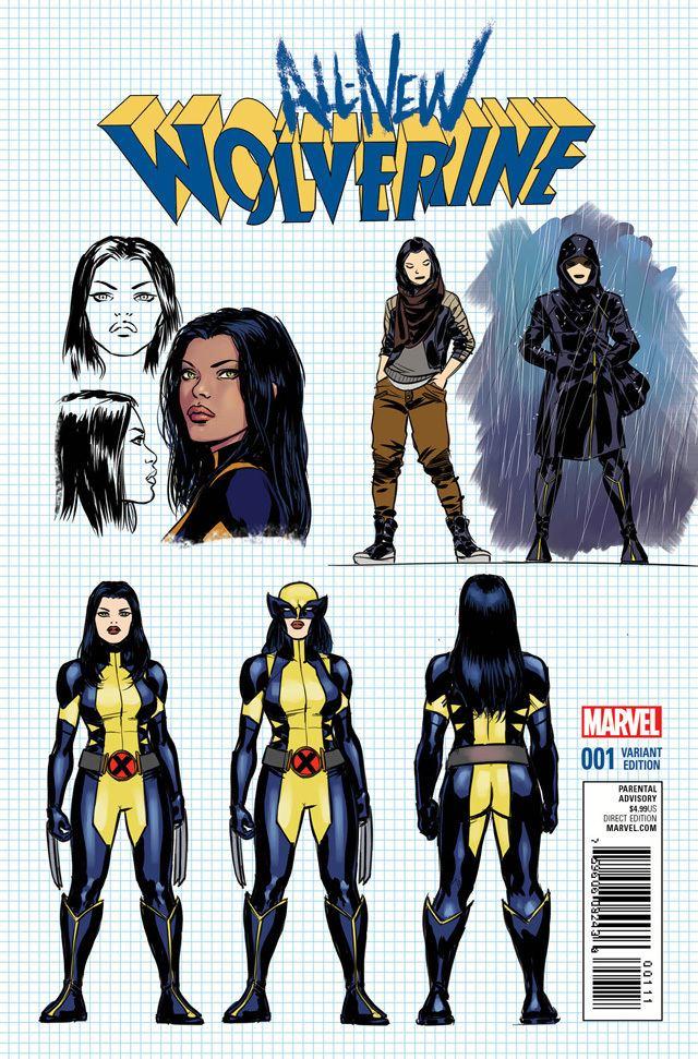 All-New Wolverine AllNew Wolverine has some killer new threads same old nononsense