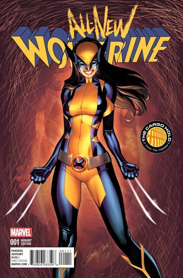 All-New Wolverine AllNew Wolverine Marvel Heroes 2016