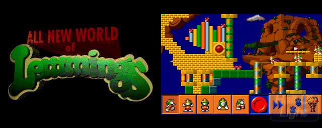 All New World of Lemmings All New World Of Lemmings Hall Of Light The database of Amiga games