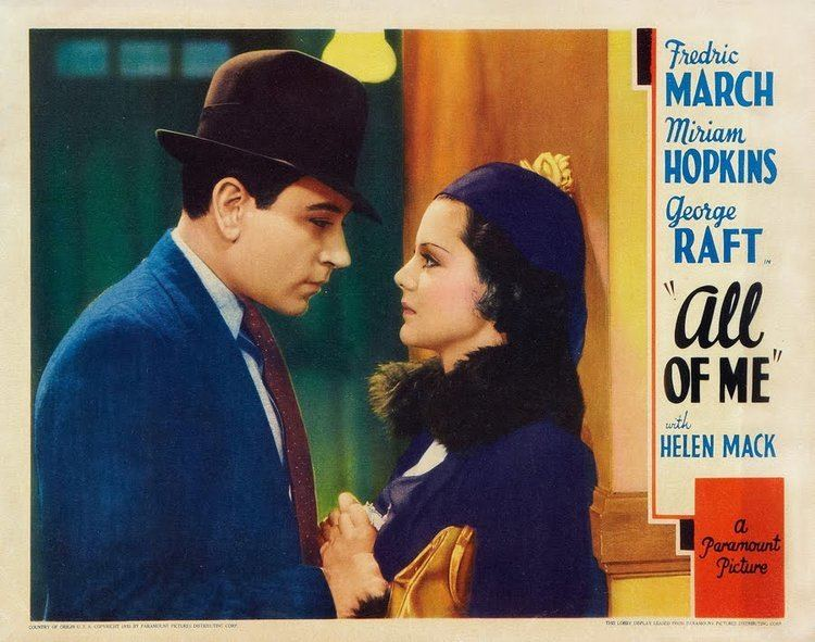 All of Me (1934 film) All of Me 1934