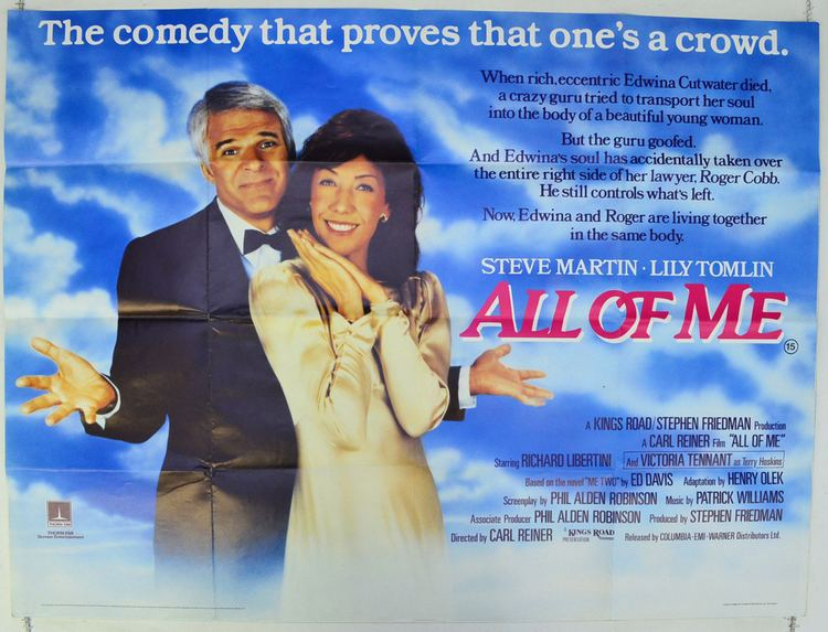 All of Me (1984 film) All Of Me Original Cinema Movie Poster From pastposterscom