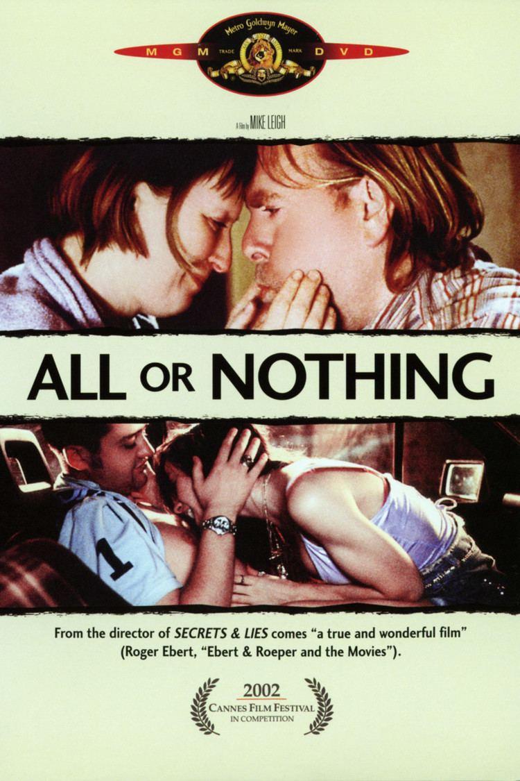 All or Nothing (film) wwwgstaticcomtvthumbdvdboxart30687p30687d