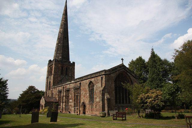 All Saints' Church, Breadsall