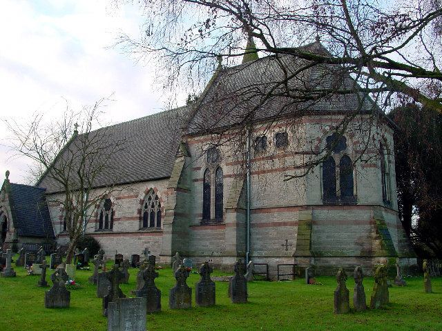 All Saints' Church, Denstone