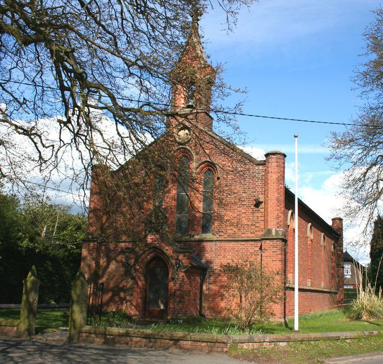 All Saints' Church, Weston, Cheshire