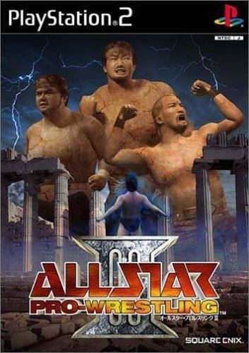 All Star Pro-Wrestling Amazoncom All Star ProWrestling III Japan Import Video Games