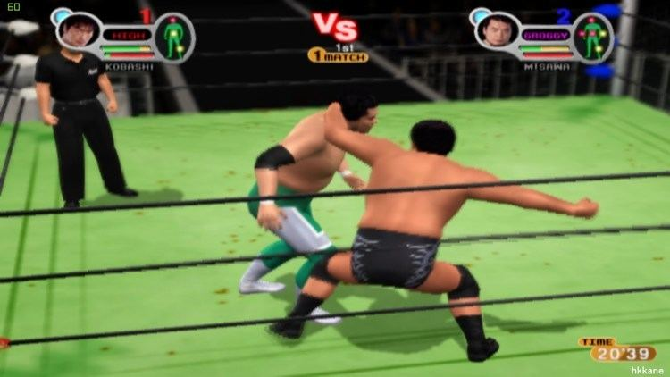 All Star Pro-Wrestling PS2 AllStar Pro Wrestling 3 Gameplay YouTube
