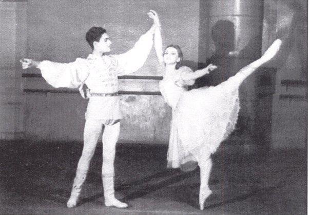 Alla Osipenko Alla Osipenko at ballet school 194950 20th century and