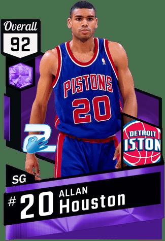 Allan Houston 03 Allan Houston 92 MyTEAM Amethyst Card 2KMTCentral