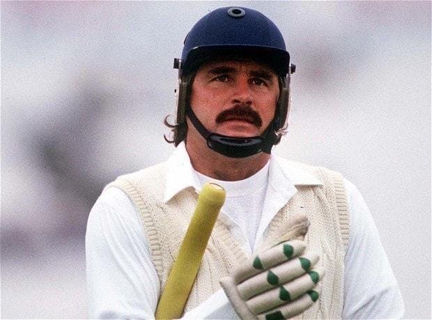 Allan Lamb (Cricketer) playing cricket