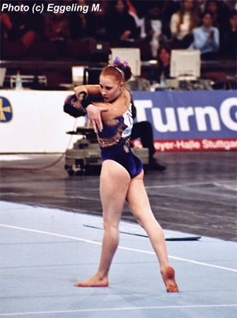 Allana Slater Allana Slater at the 2003 Dtb Cup