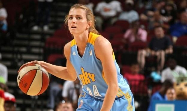 Allie Quigley Working on the right movesChicago Sky resigns Quigley