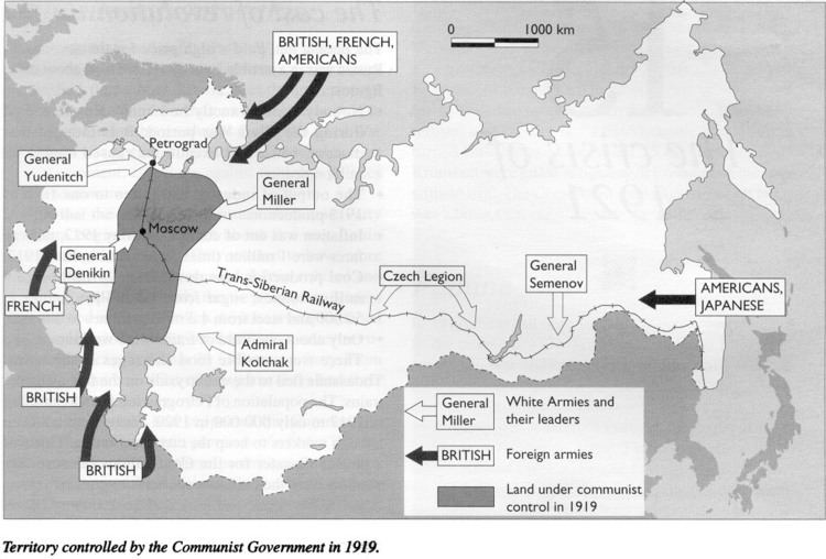 Allied Intervention In The Russian Civil War Alchetron The Free Social Encyclopedia
