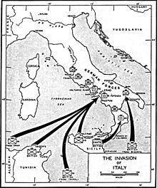 Allied invasion of Italy Allied invasion of Italy Wikipedia