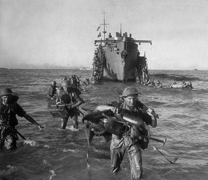 Allied invasion of Italy The Allied Invasion of Italy was the Allied landing on mainland