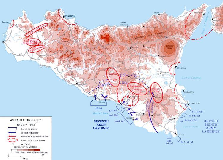 Allied invasion of Sicily httpsuploadwikimediaorgwikipediacommonsee