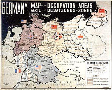 Allied-occupied Germany Allied Occupation and Trizonesia 1945 1949