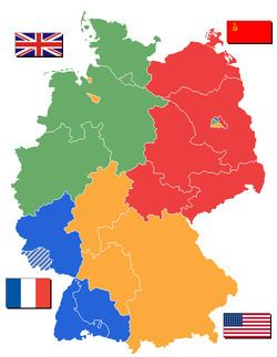Allied-occupied Germany Allied Occupation Zones in Germany Simple English Wikipedia the