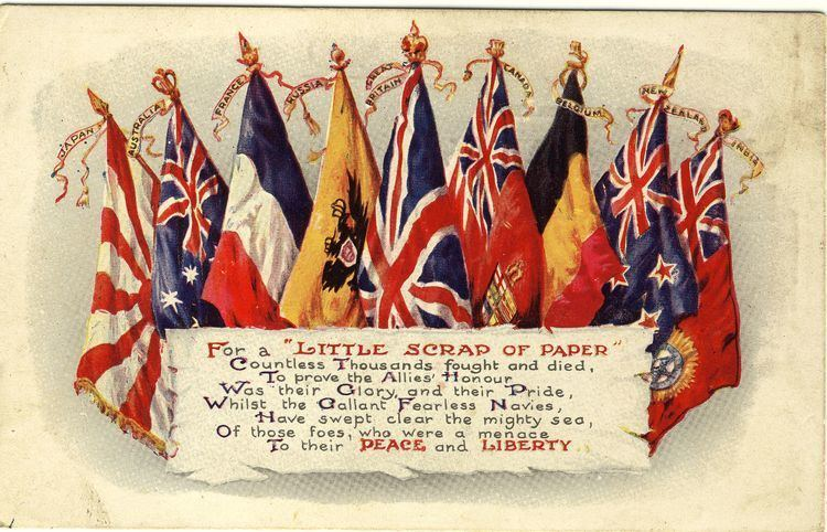 Allies of World War I What countries were allied with britain in ww1 Online and Mail