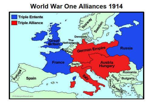 Allies of World War I Alliances World War 1