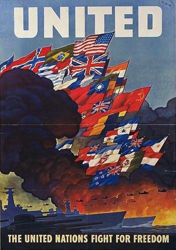 Allies of World War II Posters Artwork Documents Allies of World War II