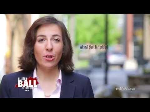 Allison Ball Get to Work Allison Ball for State Treasurer YouTube