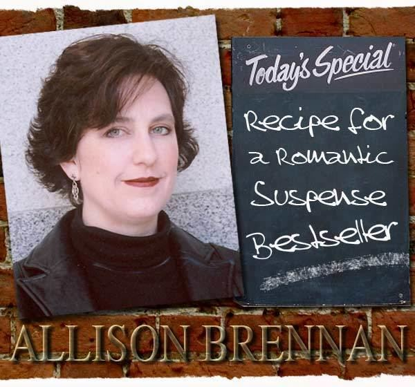 Allison Brennan Allison Brennan Interview Recipe for a Romantic Suspense