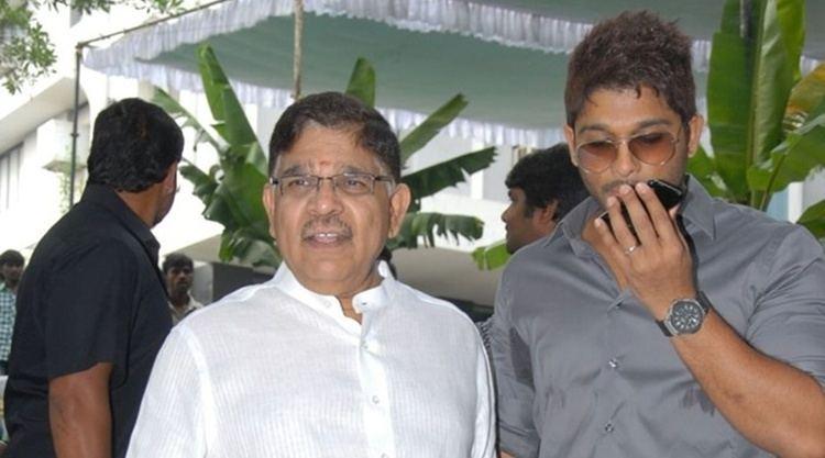 Allu Aravind Allu Aravind is proud of son Allu Arjun The Indian Express
