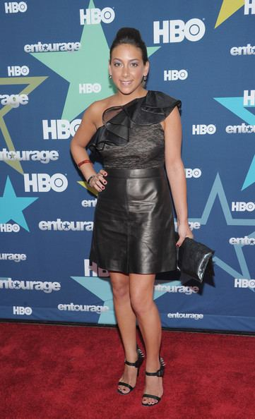 Ally Musika Ally Musika Photos quotEntouragequot Season 8 Premiere
