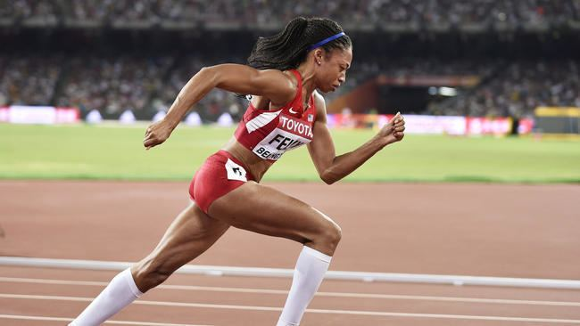 Allyson Felix Allyson Felix goes into record books with 400meter