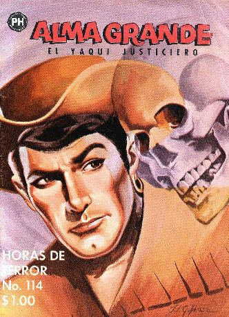 Alma grande Comics Mexicanos de Jediskater Alma Grande No 114 Agosto 3 de 1963