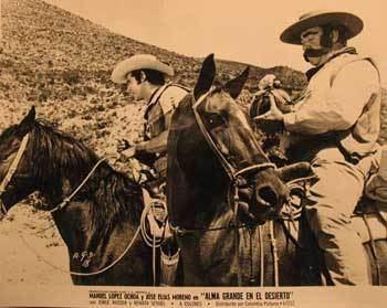 Alma grande Alma Grande en el Desierto Movie poster Cartel de la Pelcula