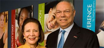 Alma Powell Leadership of General Colin Powell and Alma Powell